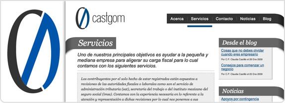 Castgom